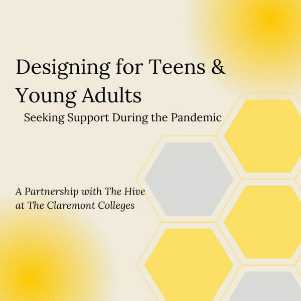 Designing for Teens and Young Adults Seeking Support During the Pandemic